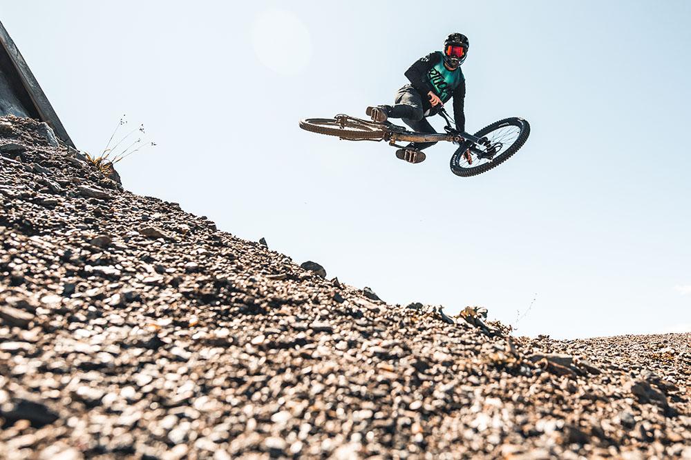 Mottolino Bike Park, le evoluzioni del rider