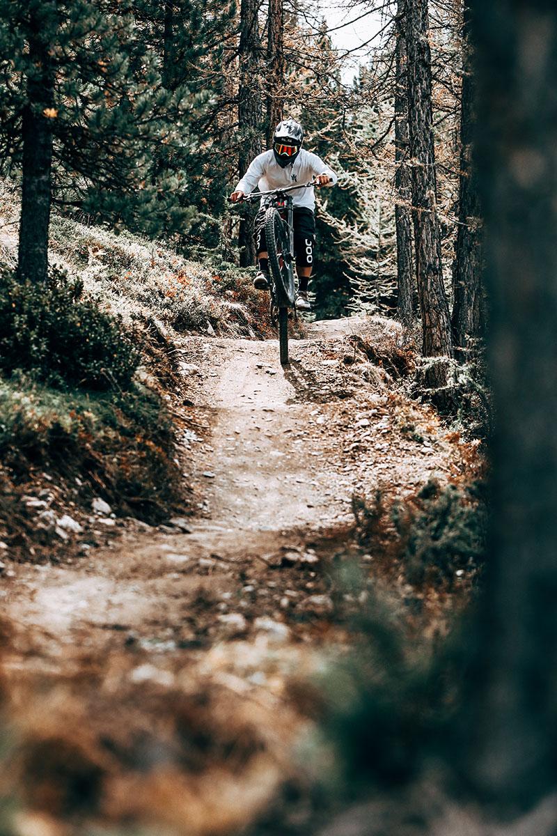 Sentieri e tracciati a Livigno