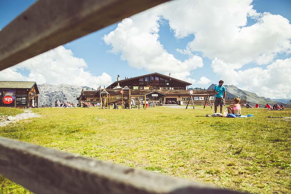 Area con parco giochi Mottolino a Livigno