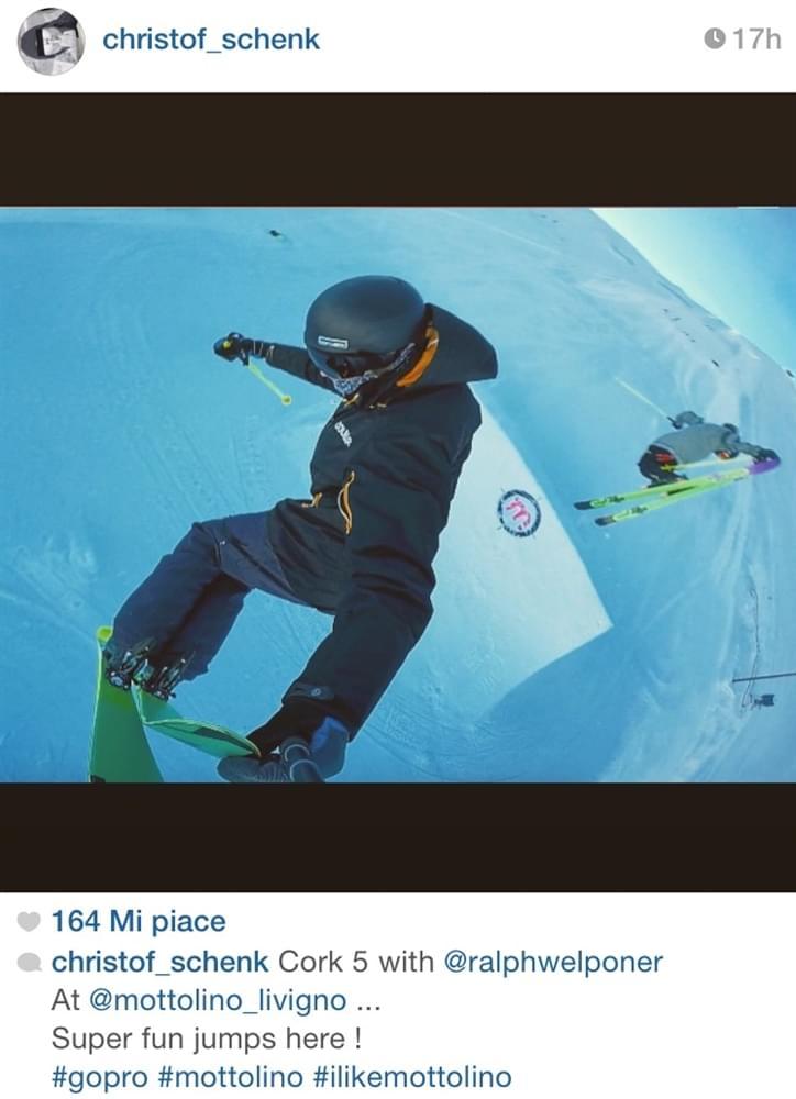Christof Schenk snowpark Mottolino Livigno