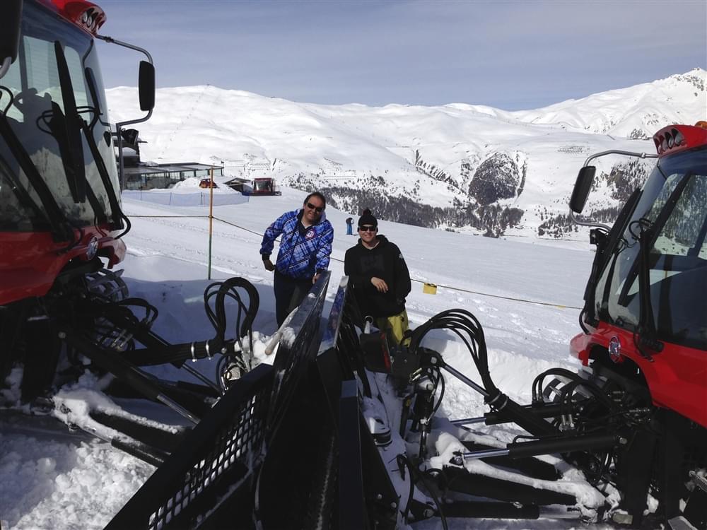 Snowpark Livigno Schneestern