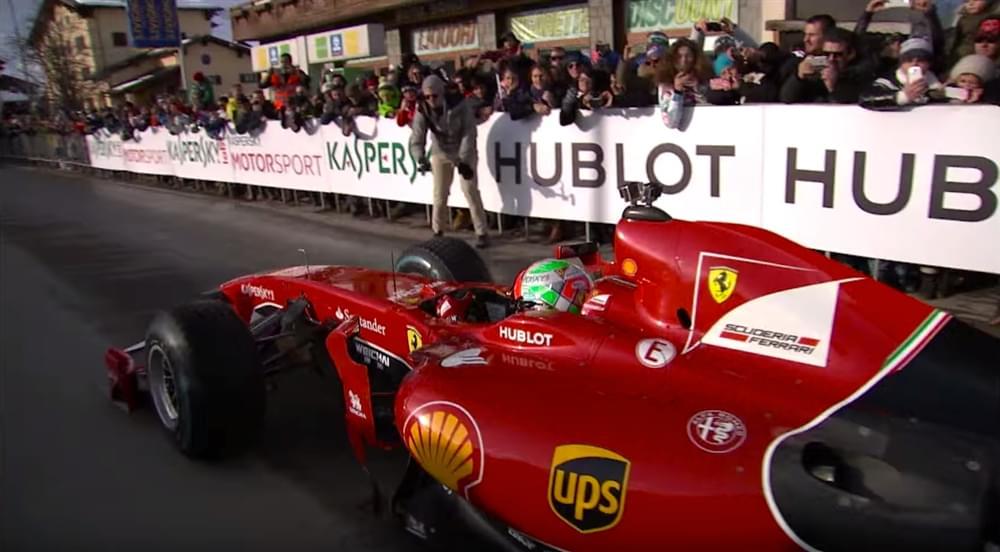 Scuderia Ferrari On Ice