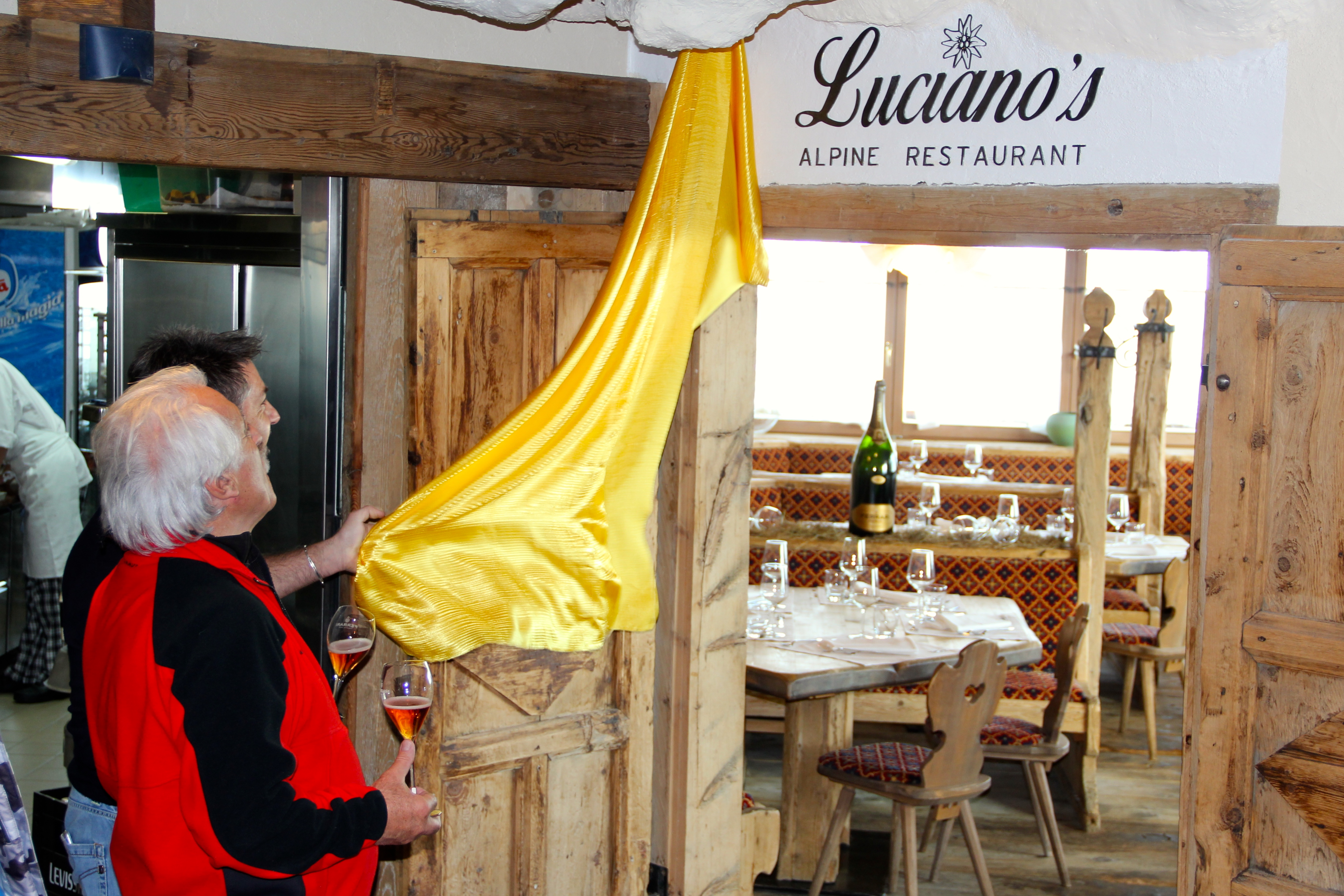 Luciano's Alpine restaurant