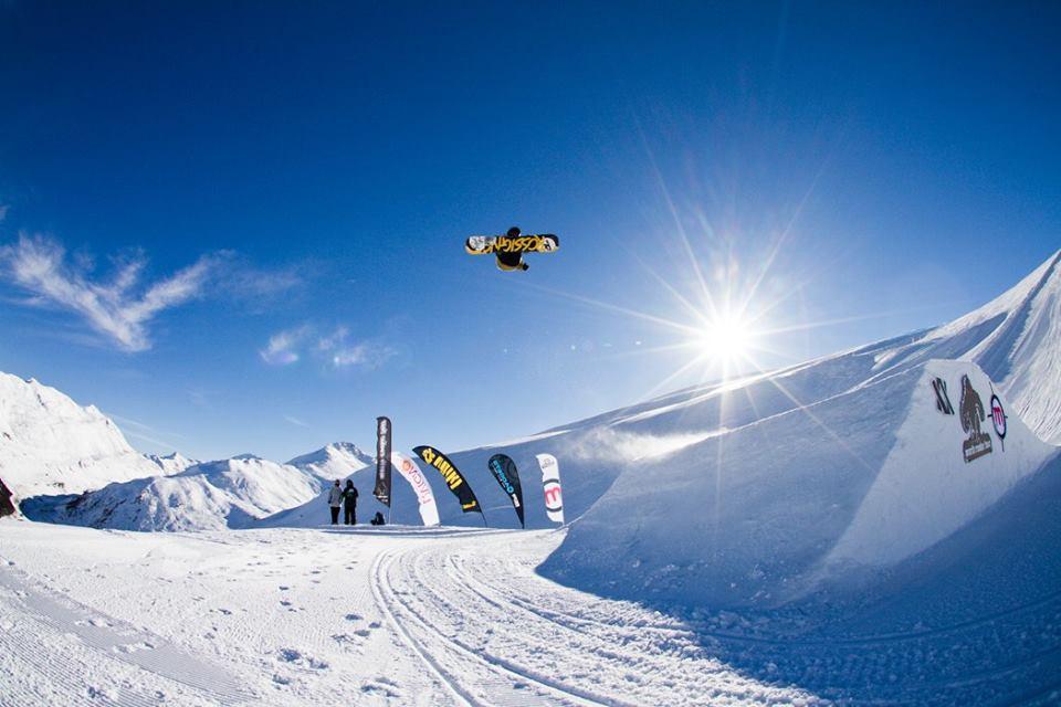 World Rookie Fest, evoluzioni sugli snowboard