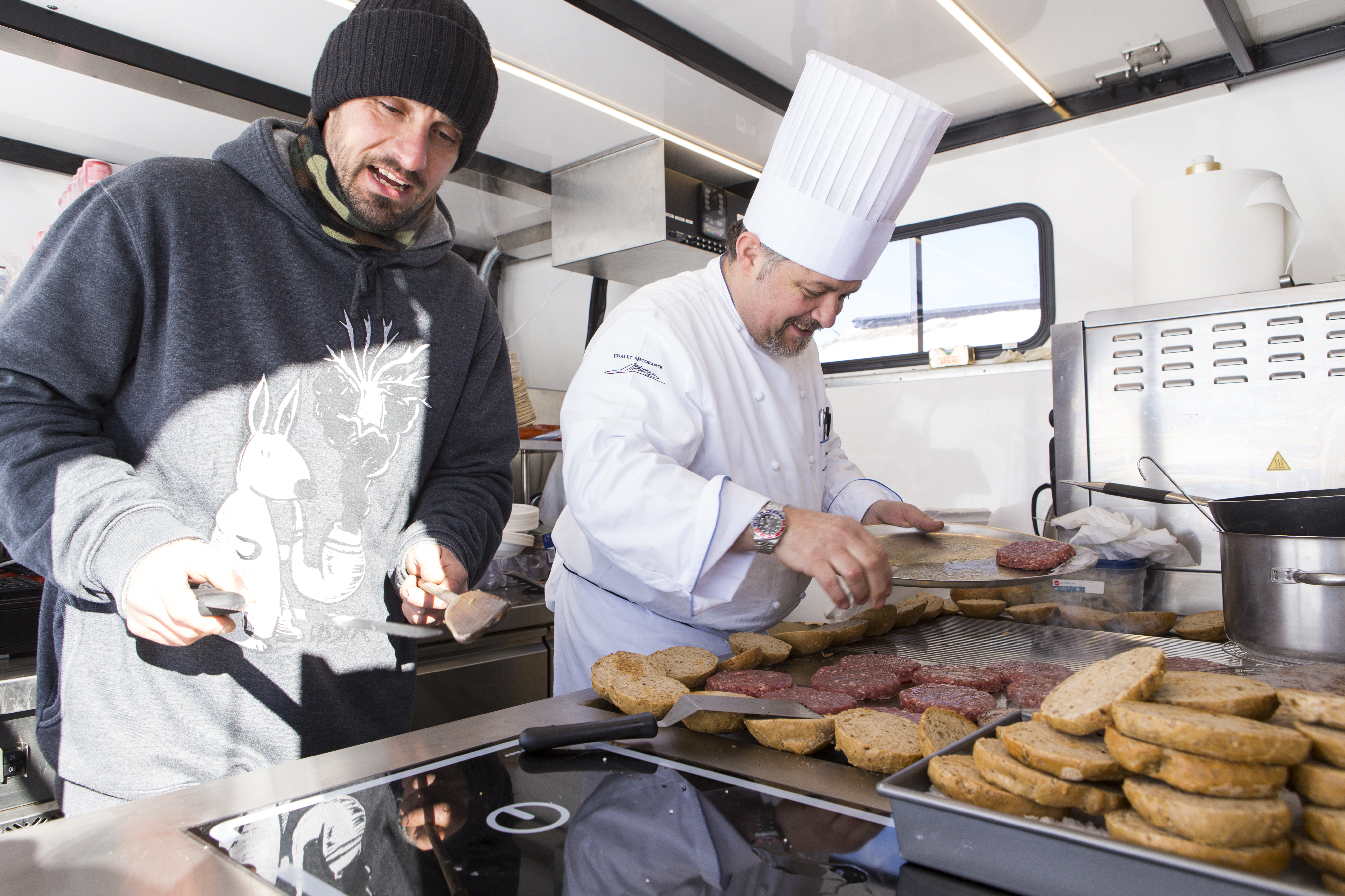 Snow Food sul Mottolino