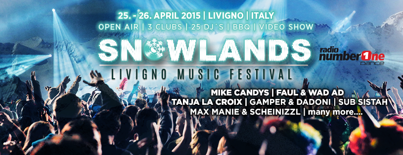 Snowlands Music Festival a Livigno
