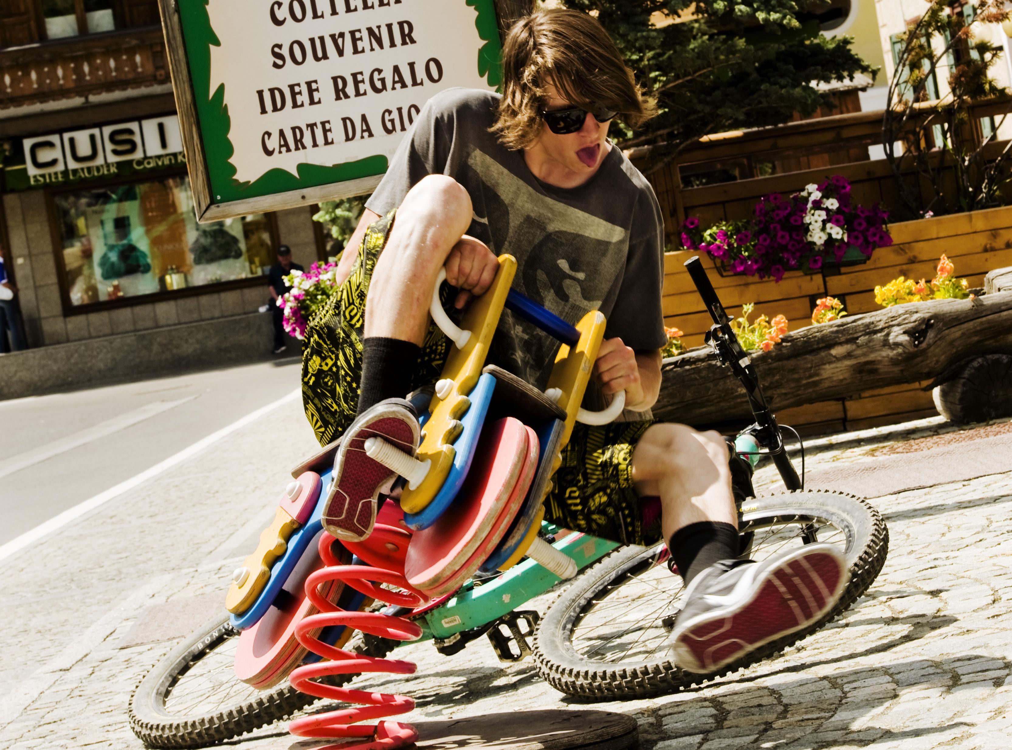 Bikepark, emozioni ed adrenalina ad alta quota