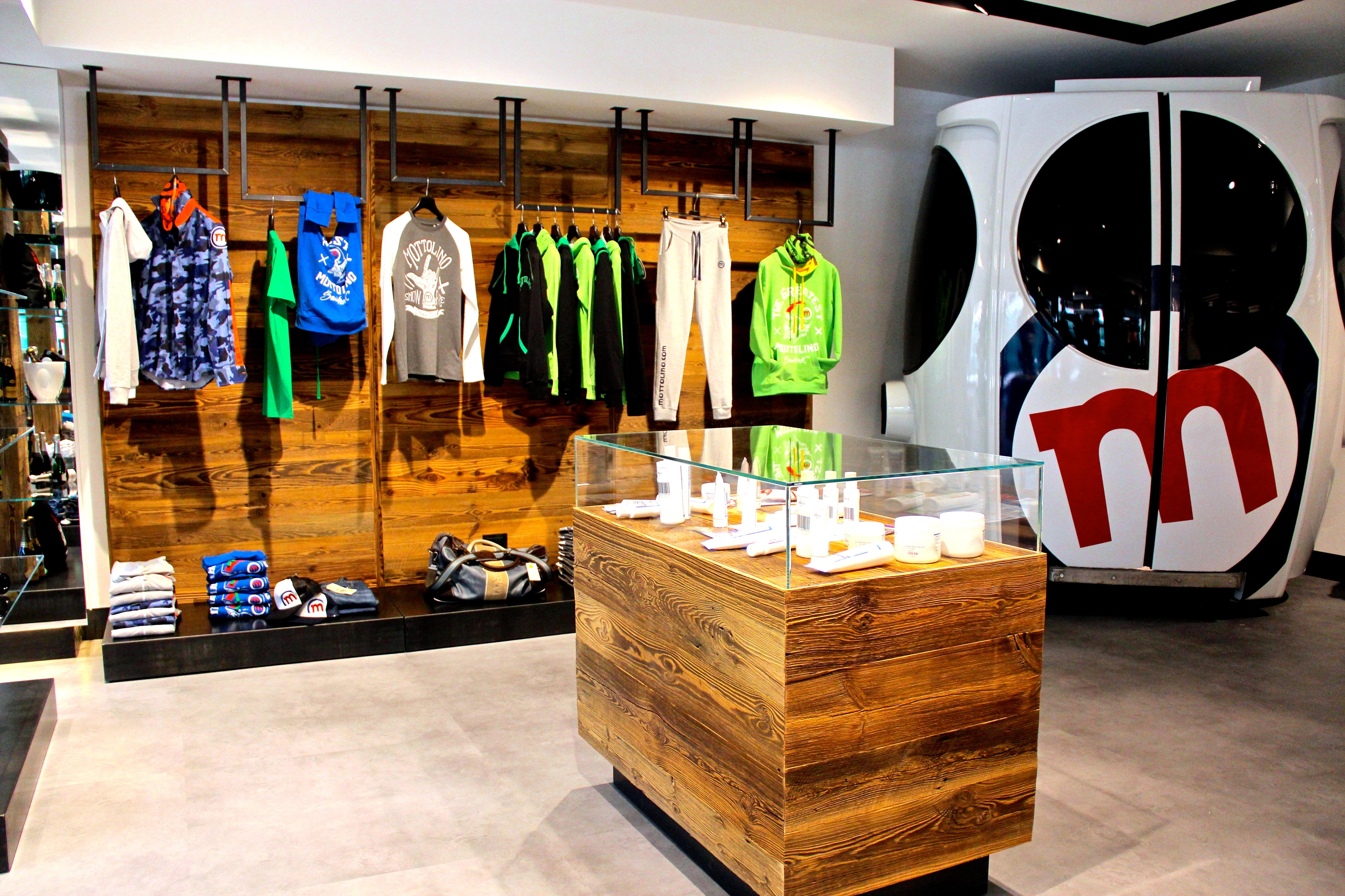 Corner Mottolino al nuovo negozio La Galleria Livigno