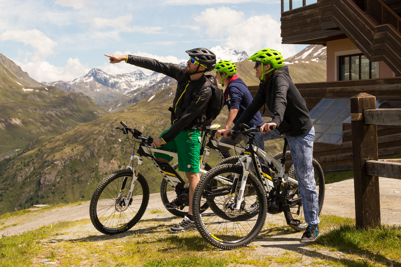 Noleggio bike al Bikepark Mottolino e Ebike