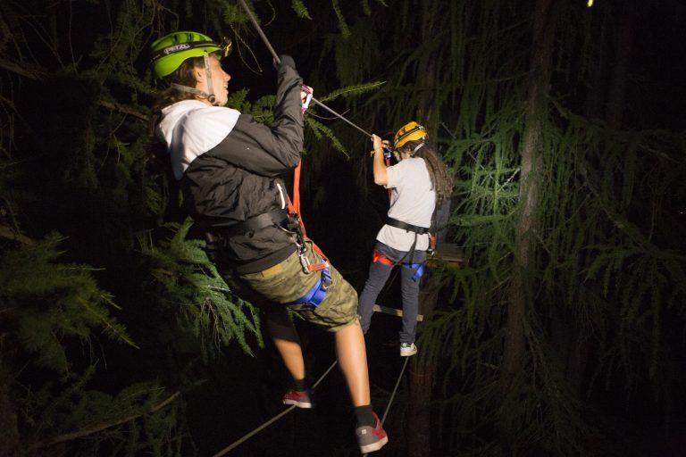 Avventura notturna al Larix Park di Livigno