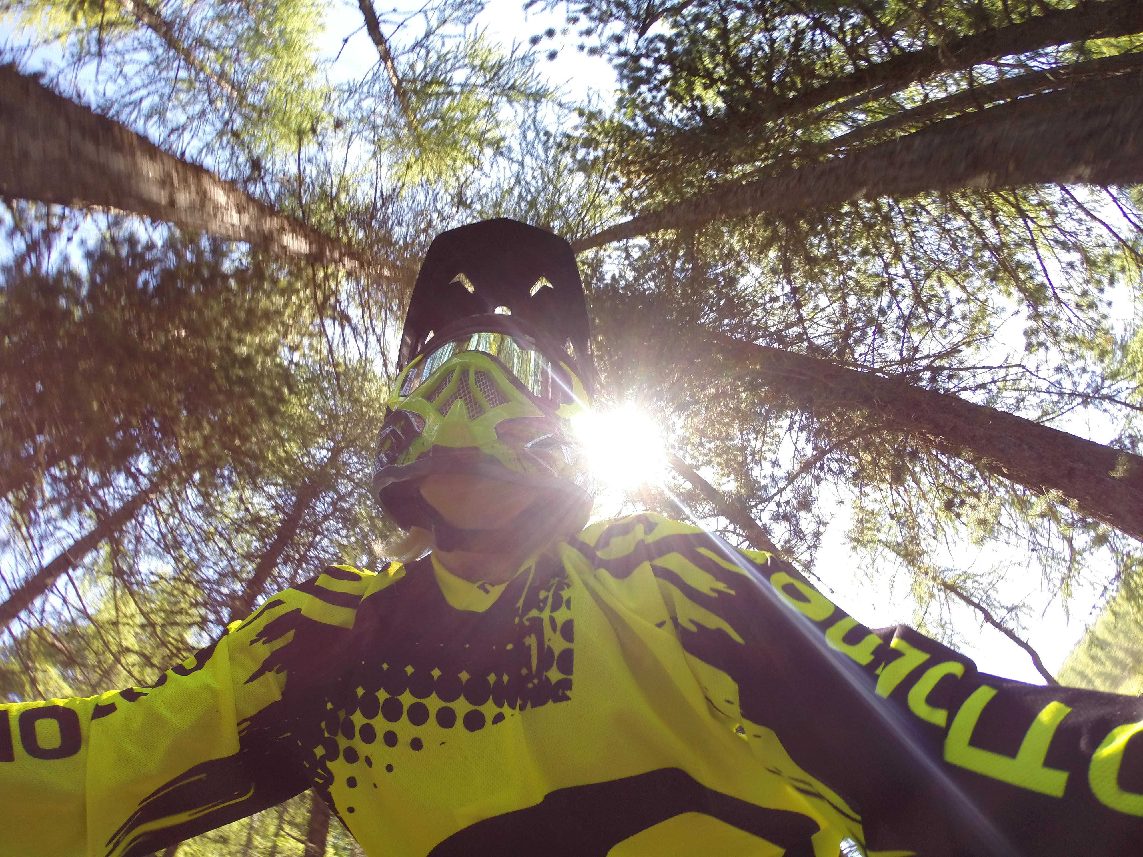 Downhill donna al bikepark di Livigno