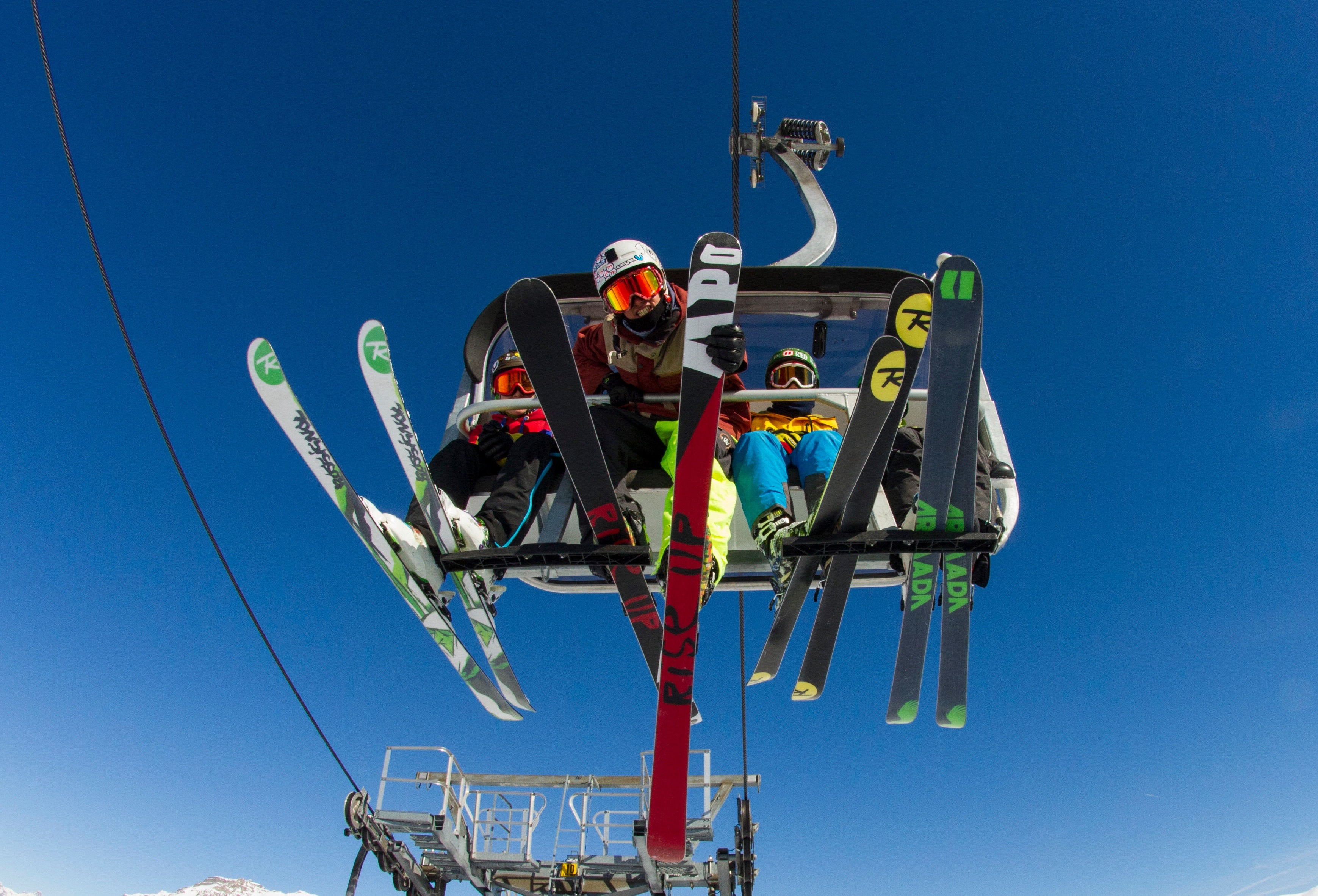 Seggiovia del Mottolino per discese sci alpino
