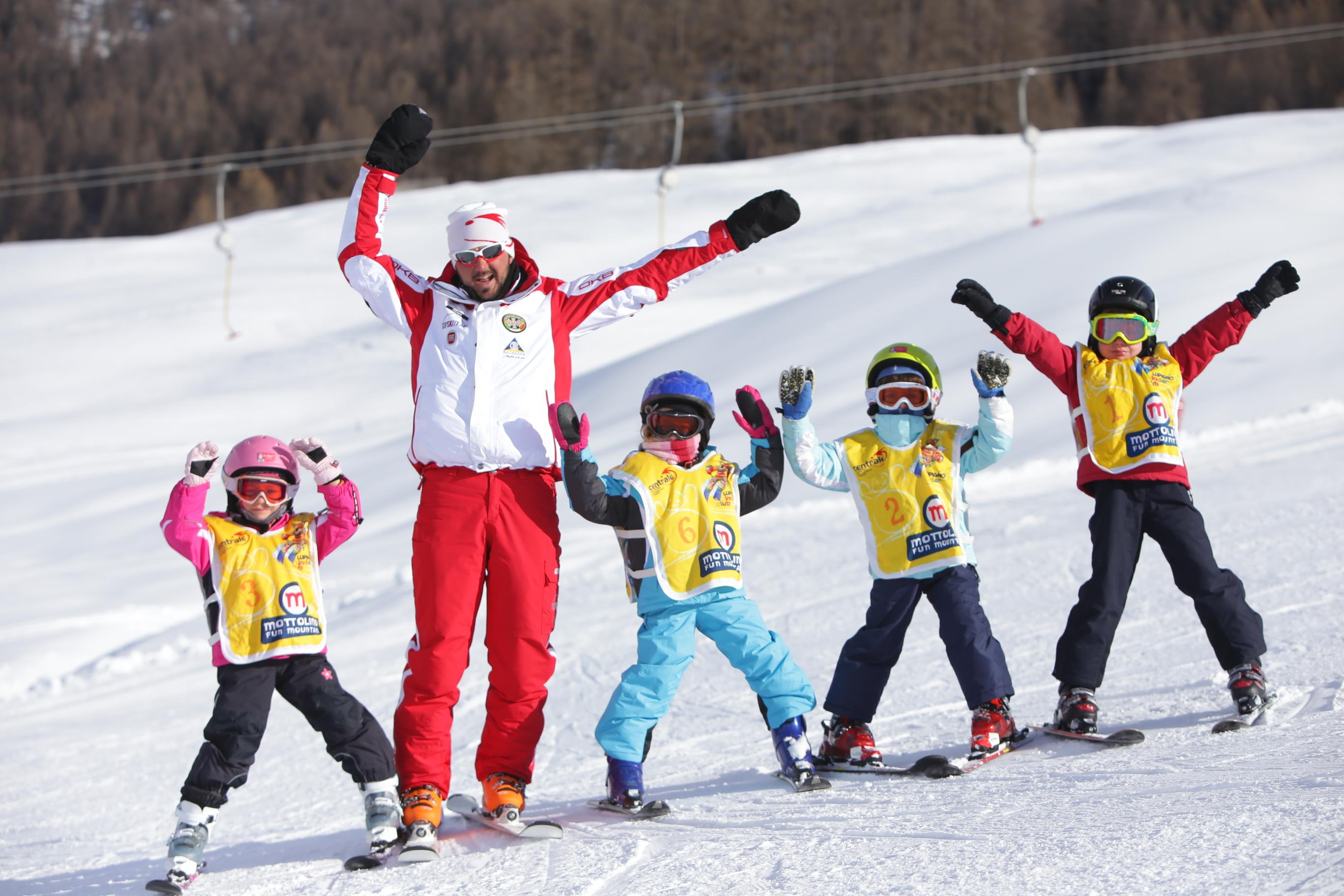 Lezioni di sci e snowboard a Livigno