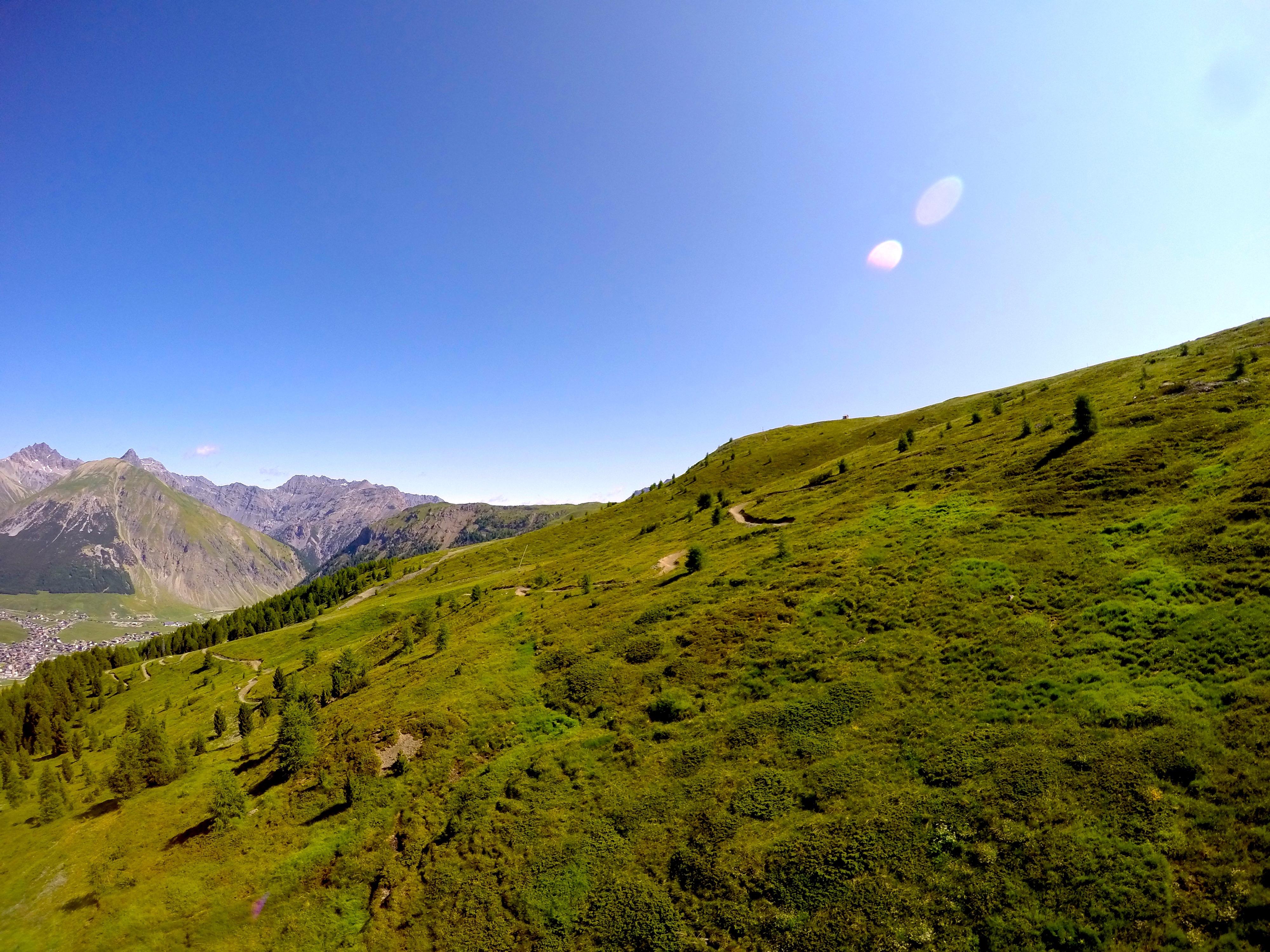 Valle di Livigno in estate