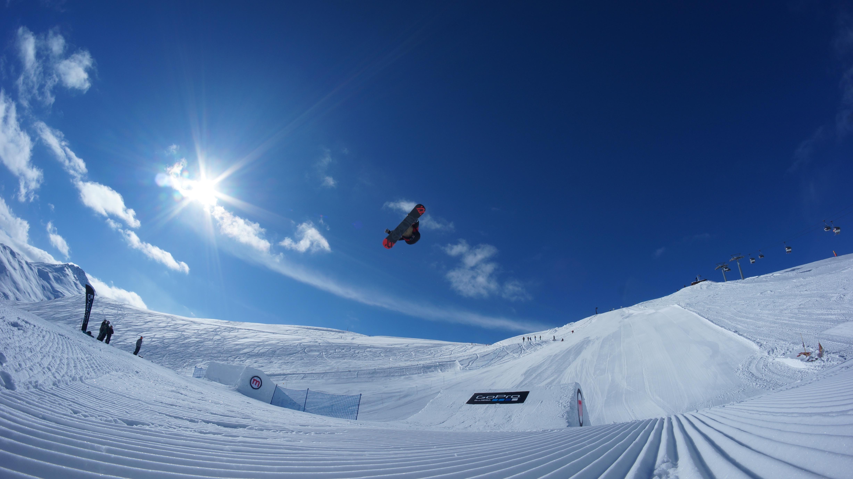 Snowpark, paradiso dei snowboarder