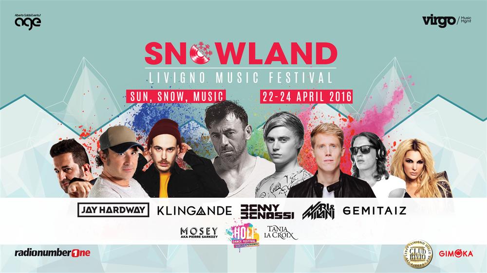 Snowland: music festival sulle Alpi