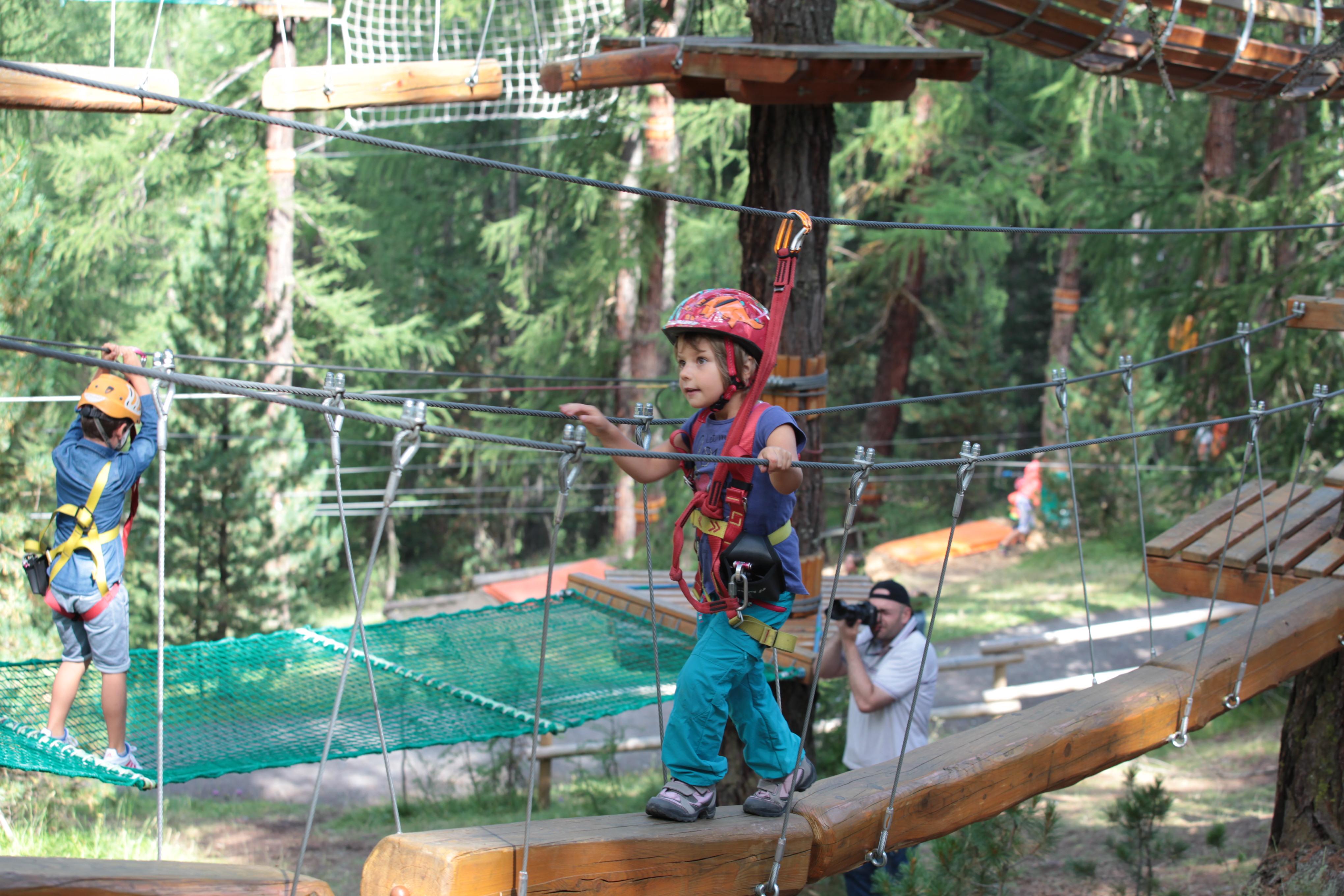 Larix Park, divertimento per bambini ed adulti