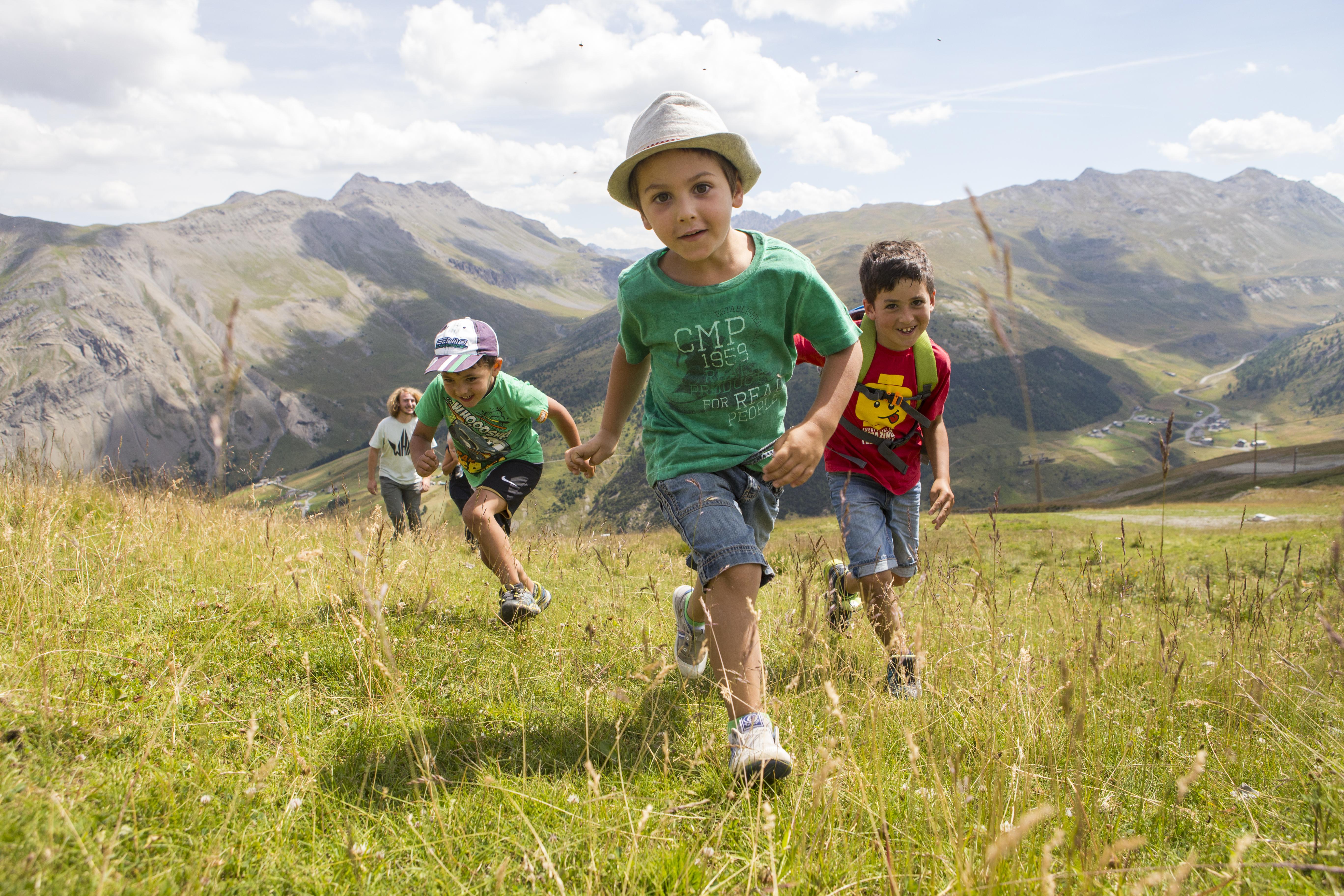Mottolino, natura per bambini a Livigno