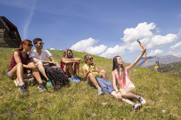 Amici sul Mottolino e vacanze a Livigno