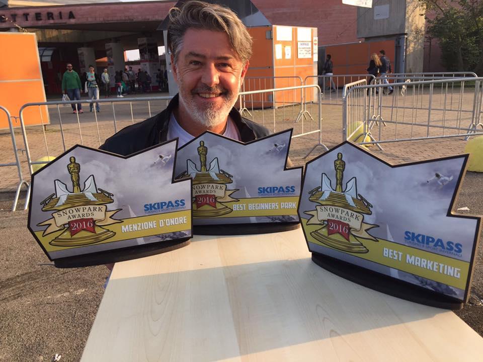 Mottolino vincitore dello Snowpark Awards
