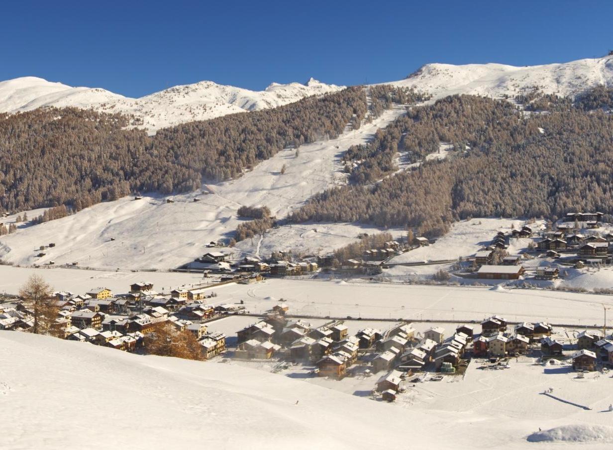 Panoramica di Livigno