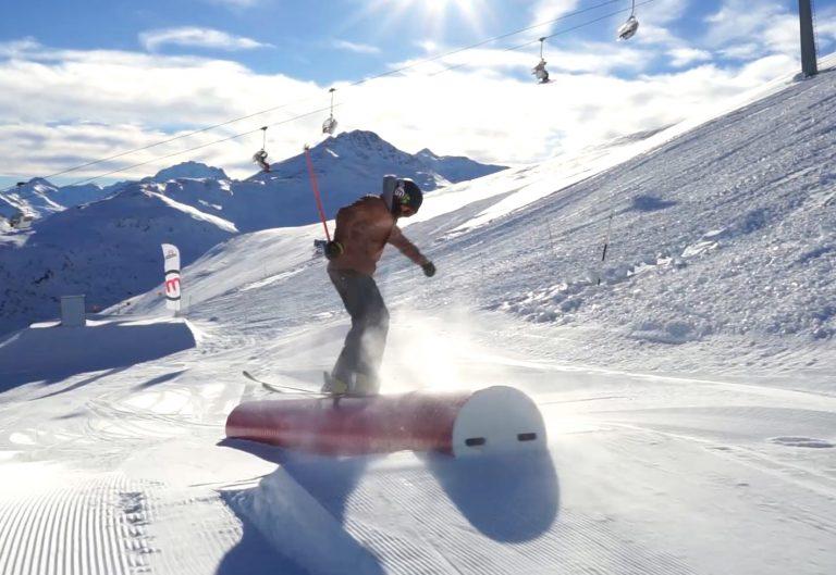 Freestyle nello Snowpark di Mottolino