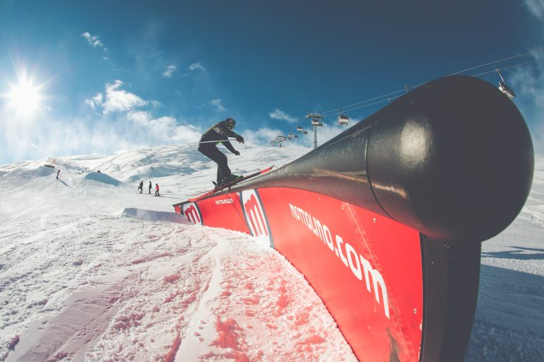 Freestyle al Mottolono Snowpark