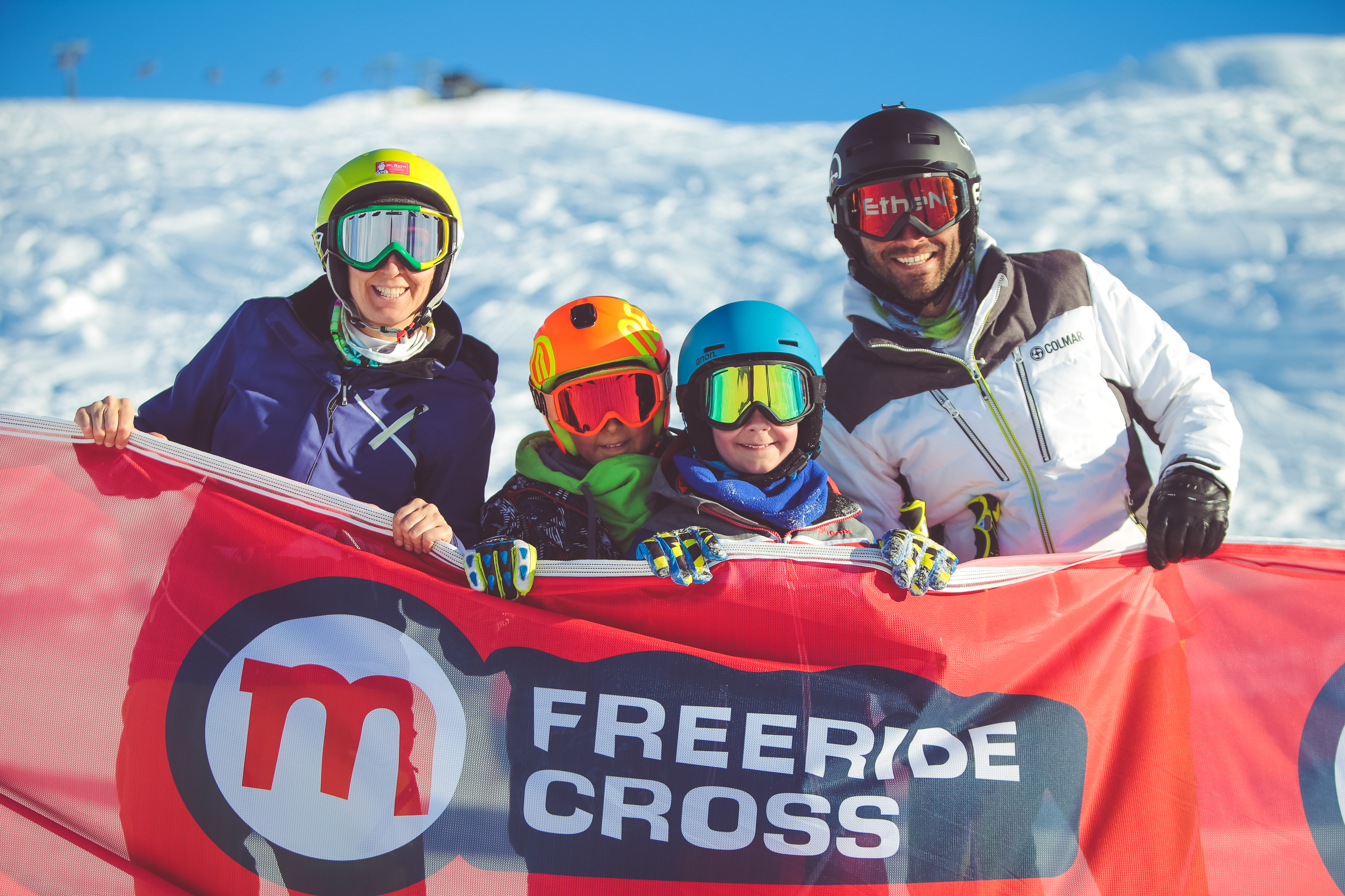 Freeride cross a Livigno
