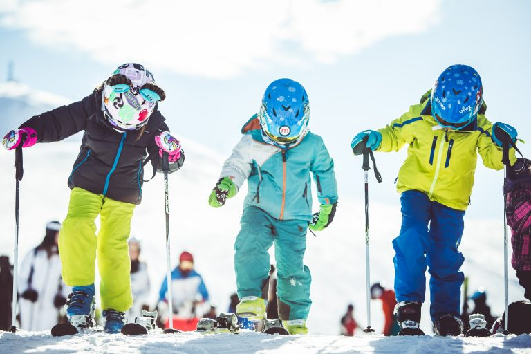 Lezioni di sci per bambini a Livigno
