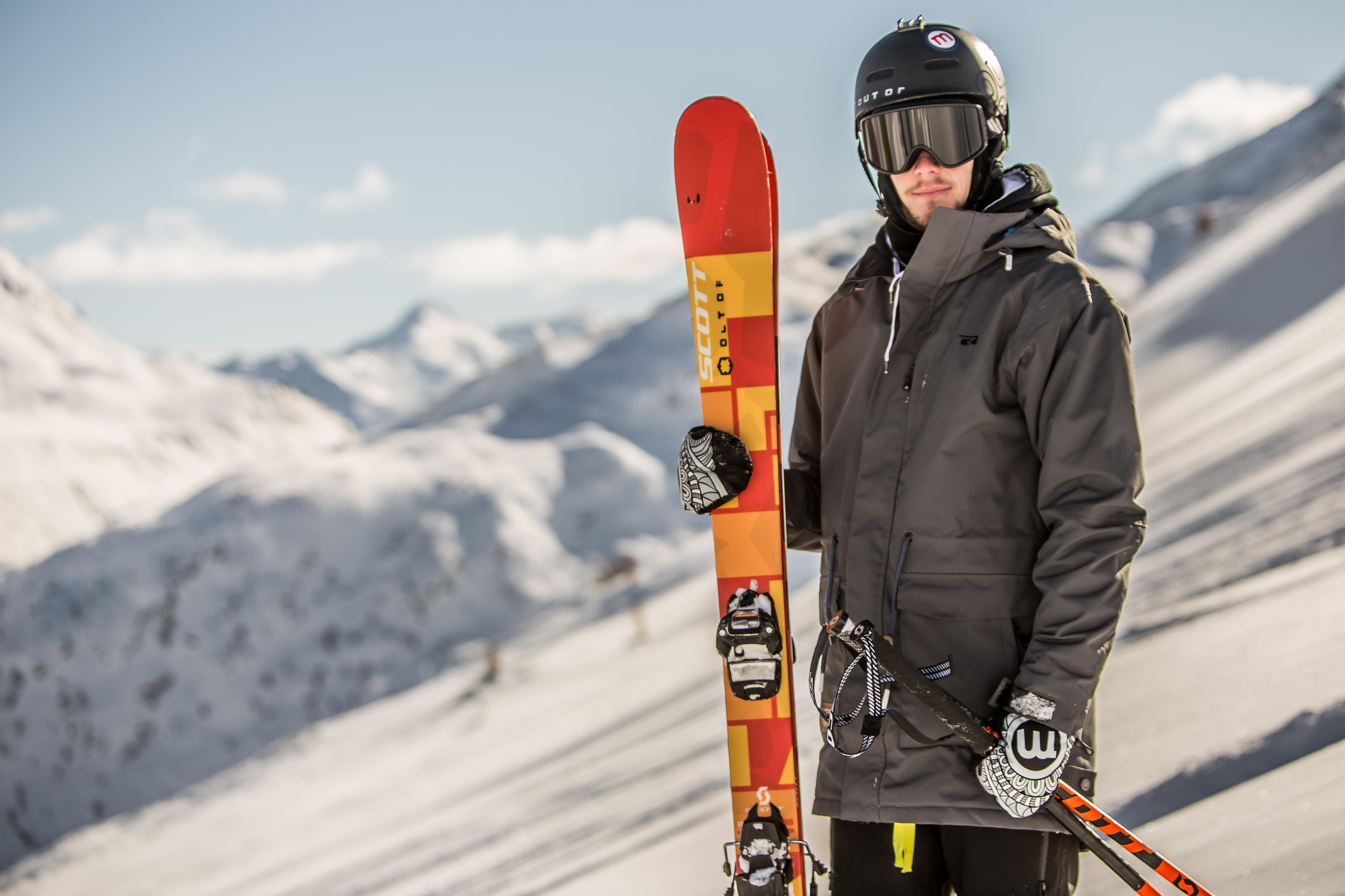 Mottolino, freestyle sulle Alpi
