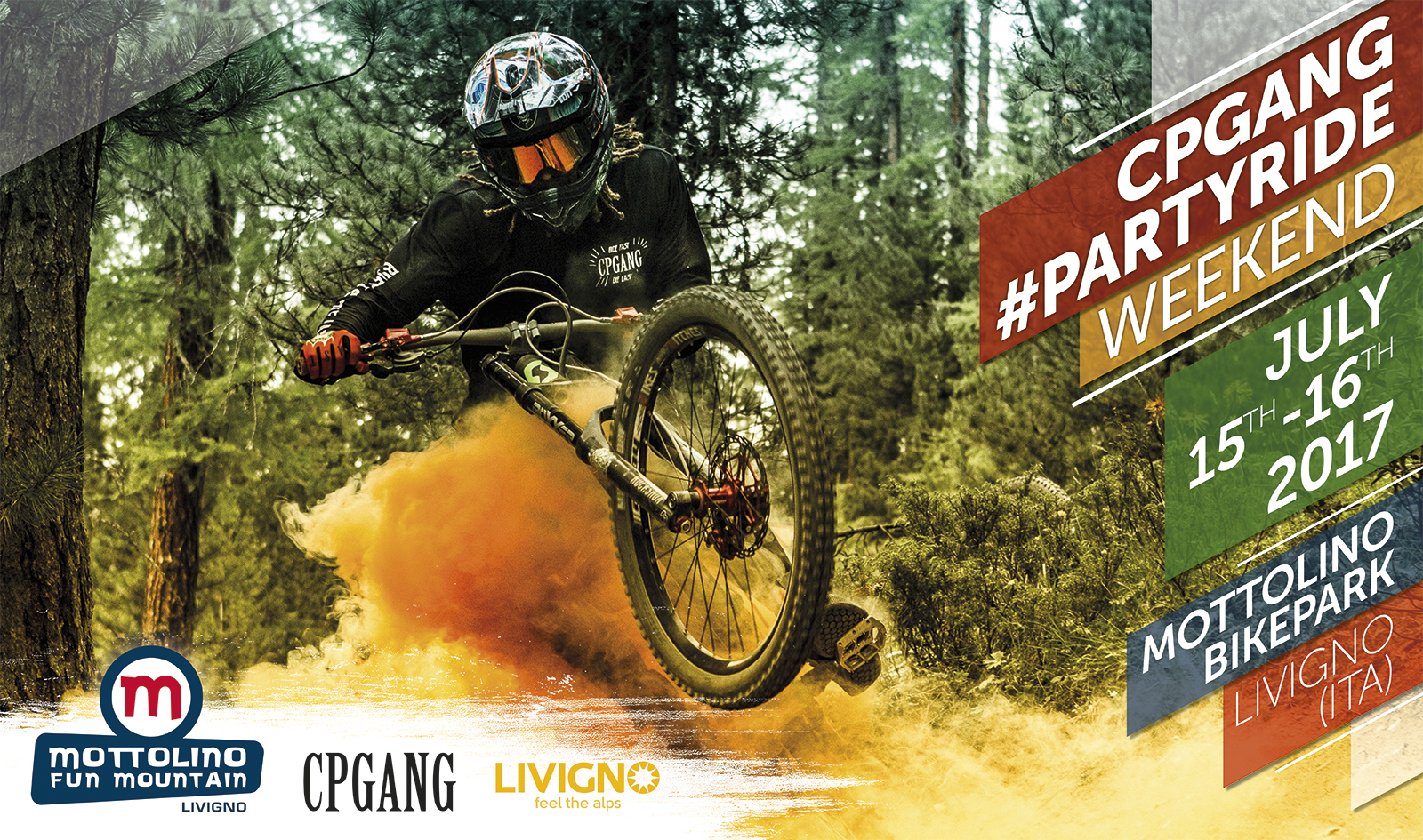 CPGANG PartyRIDE weekend a Livigno