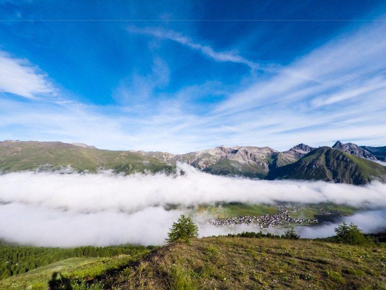 Webcam Livigno: montagne da sogno