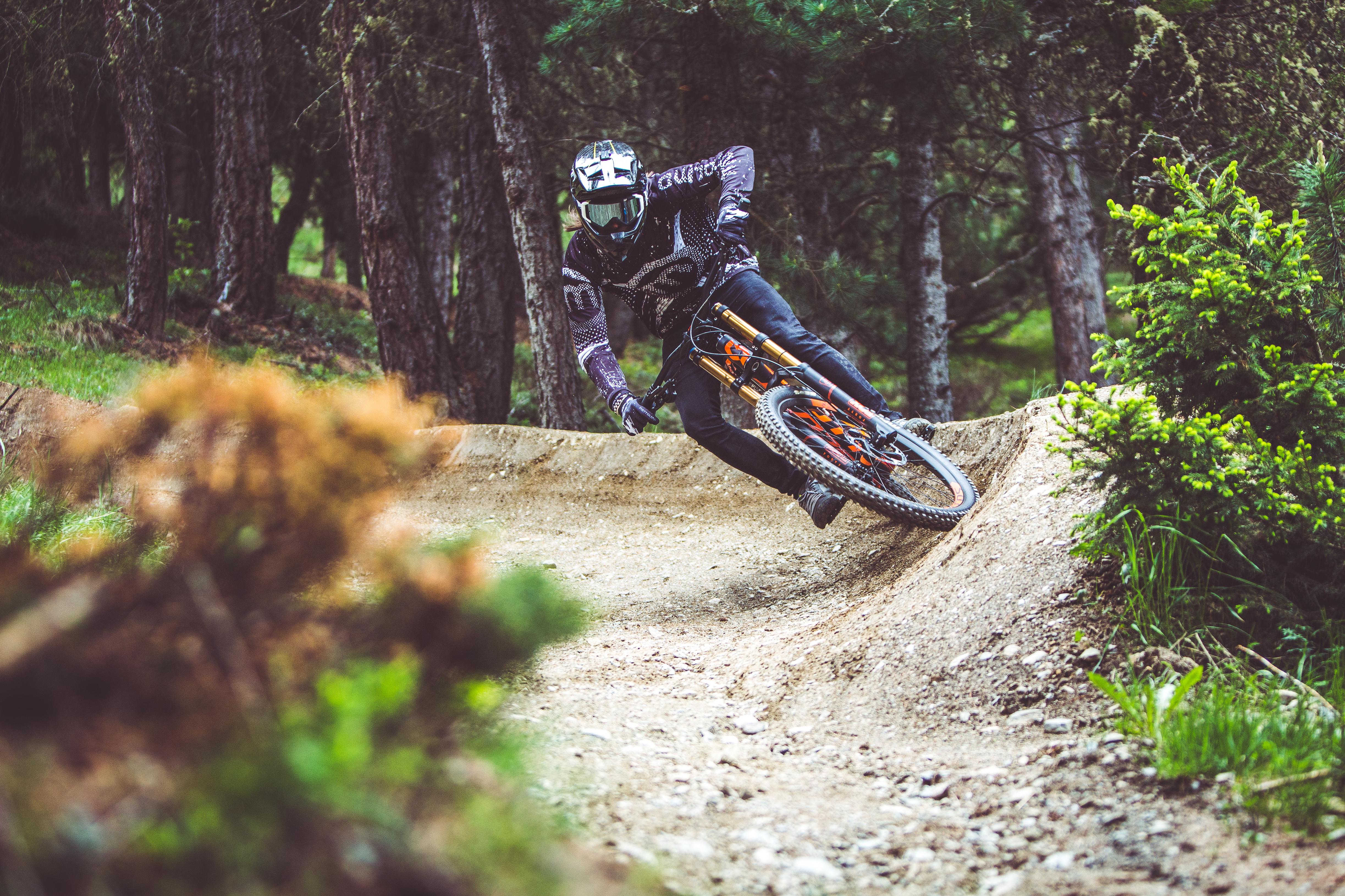 Downhill estremo sul Bikepark Livigno