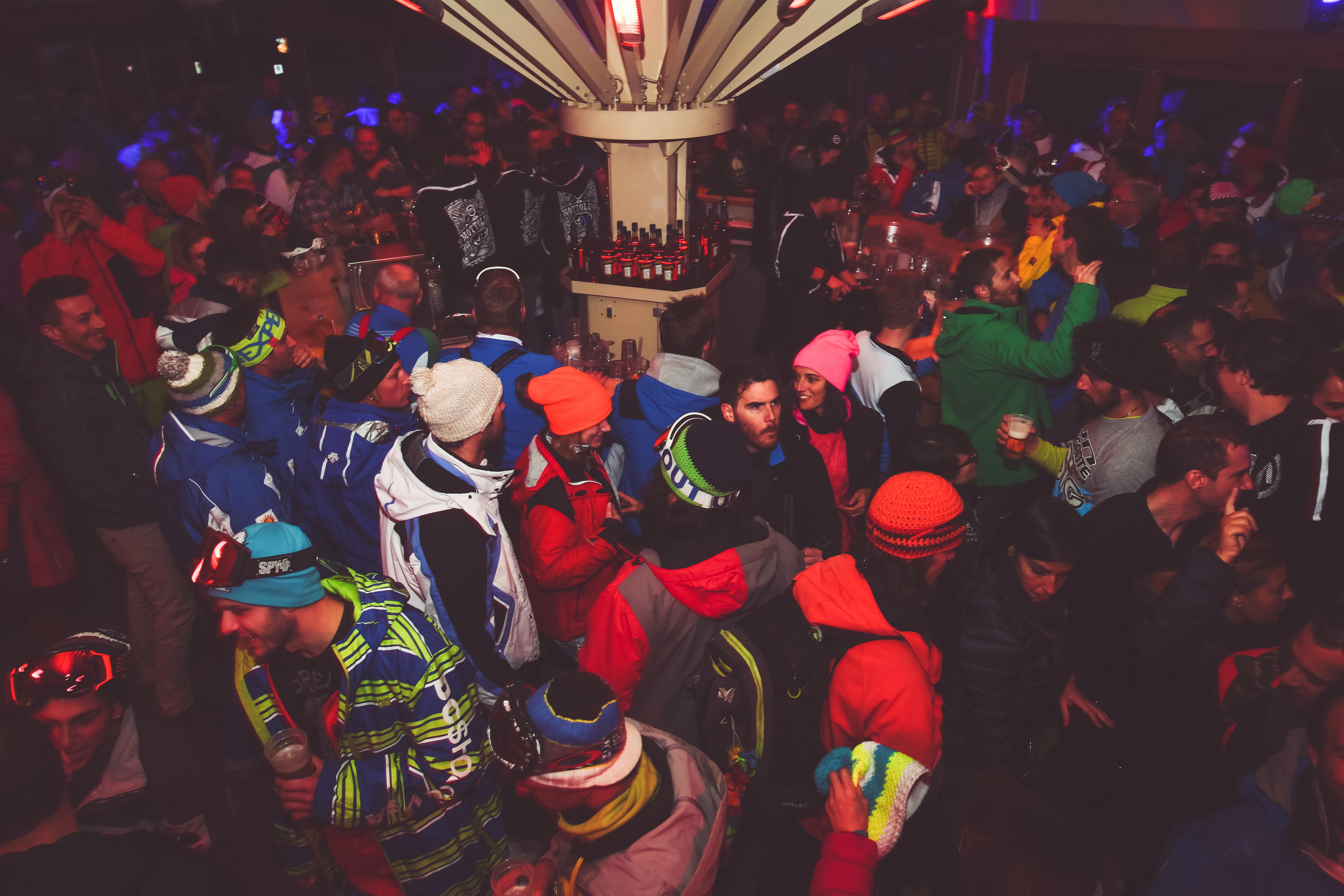 Party dopo lo sport al Kosmo di Livigno