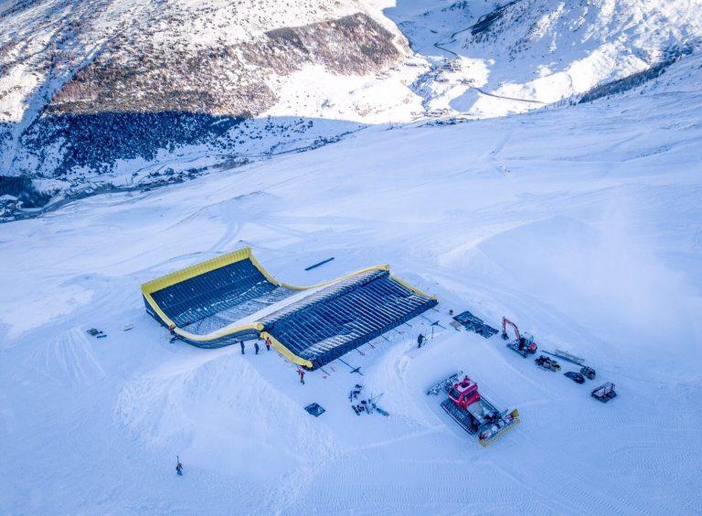 nazionale freeski e snowboard al Mottolino skiarea