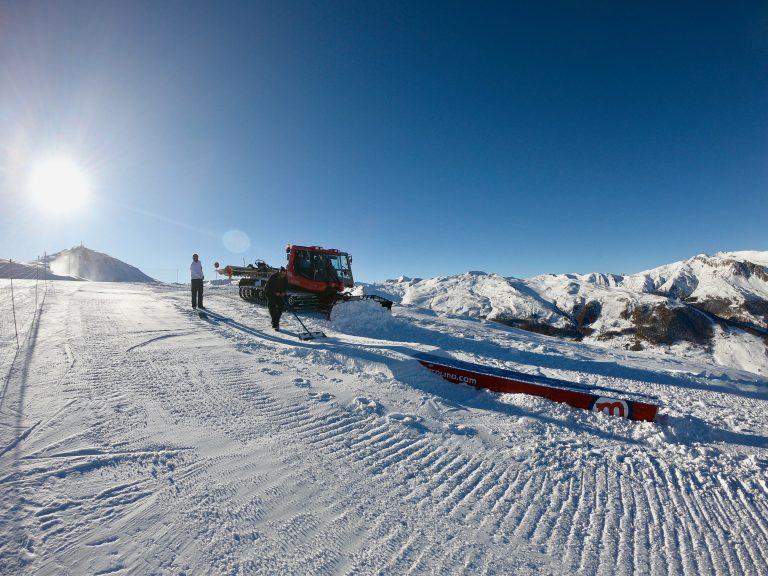 Apertura struttura Jibbing allo Snowpark