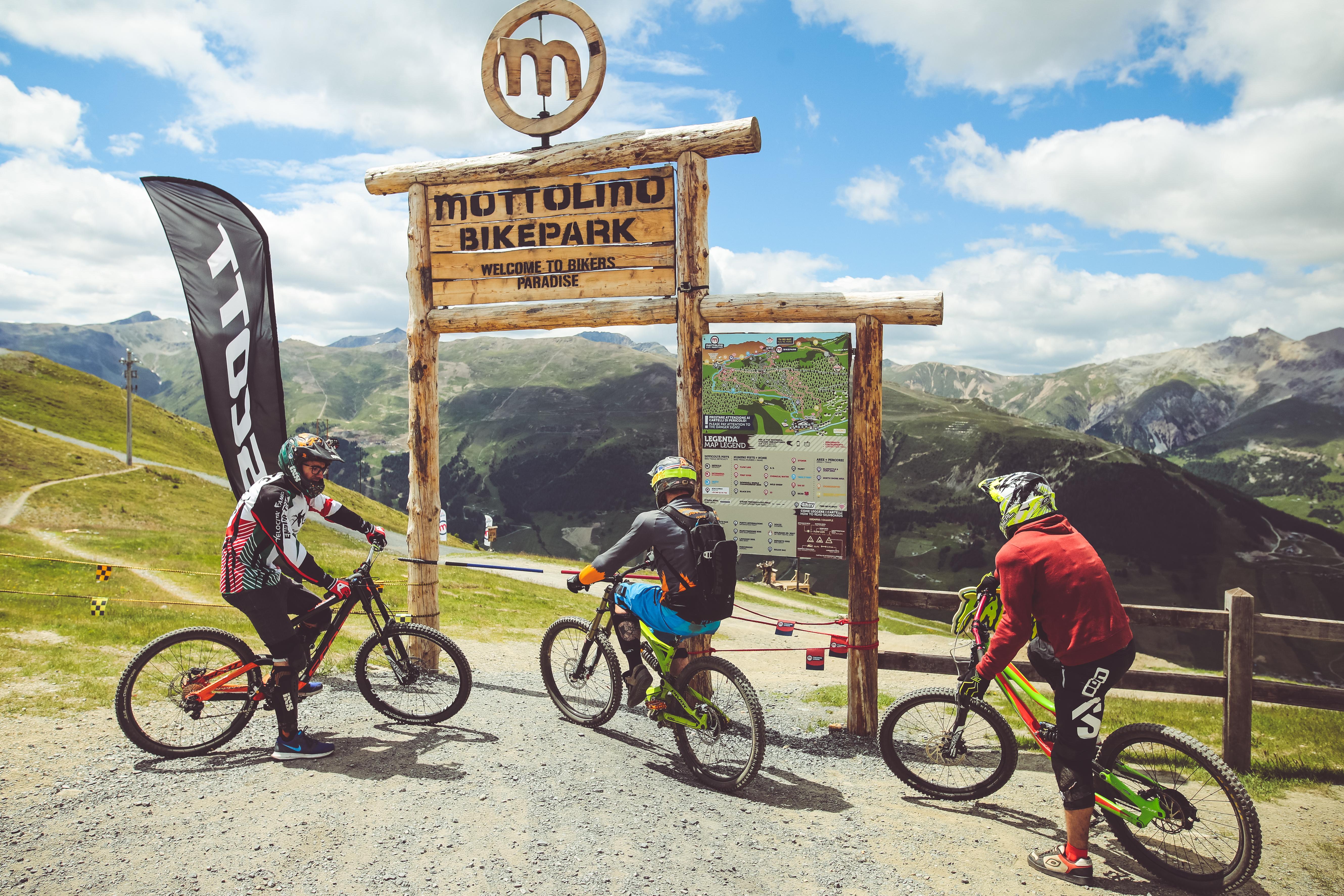 Apertura Bikepark, stagione estiva con riders