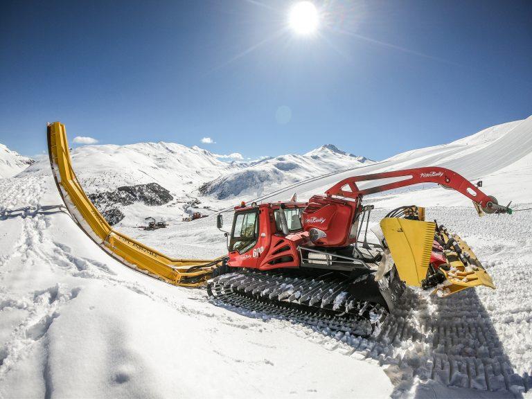 gatto delle nevi per preparazione Freestyle Ski Europa