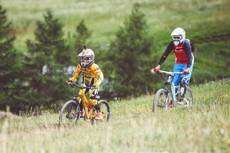 Mottolino Bikepark apertura con i primi riders