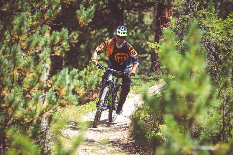 Enduro natural trail al Mottolino