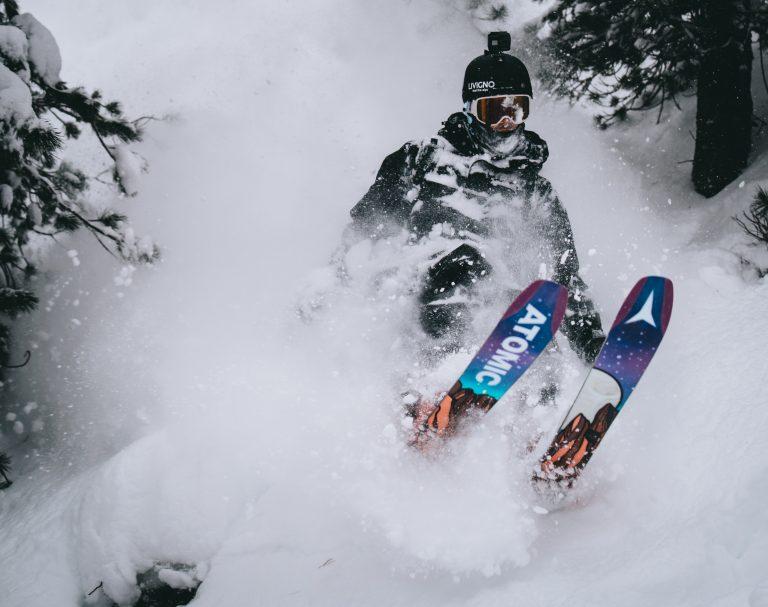 Sci alpinismo a Livigno sulle Alpi