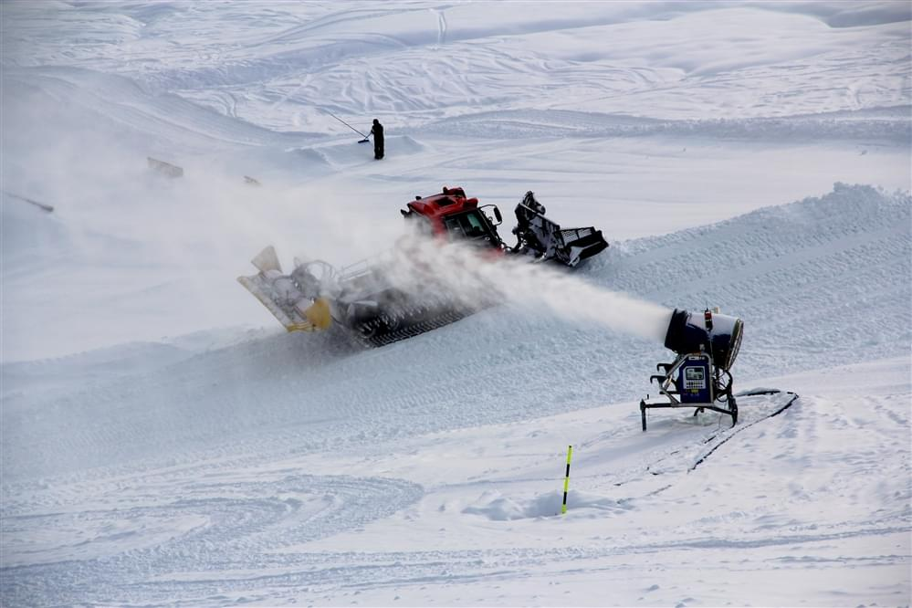 Apertura snowpark Mottolino Livigno