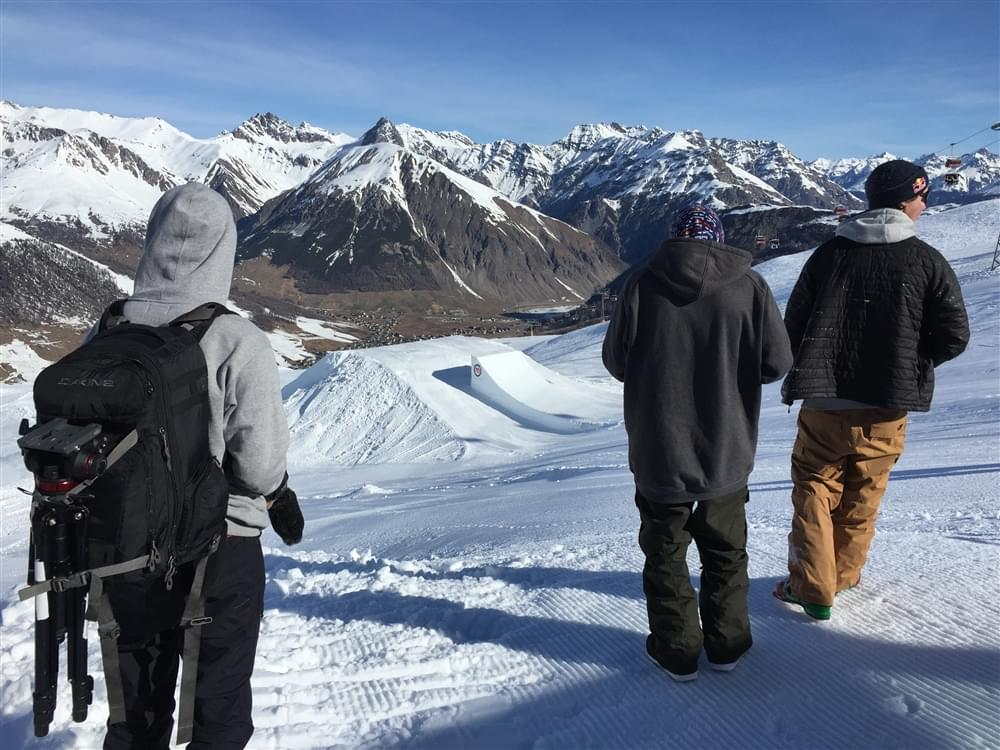Quadruplo cork snowboard