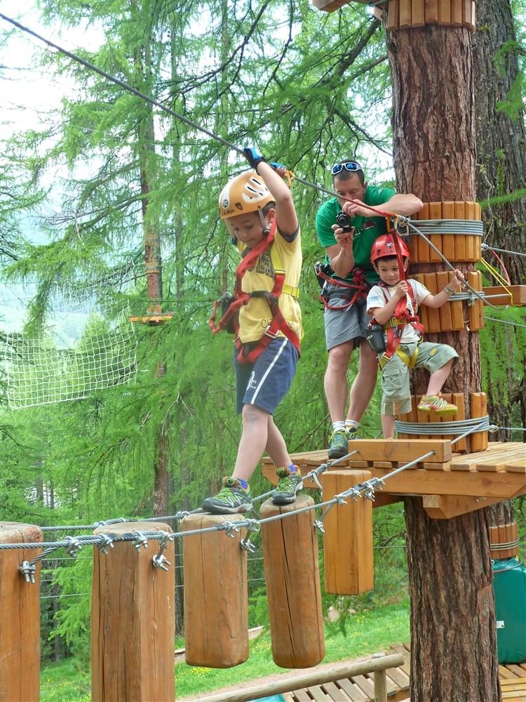 Parco avventura Livigno