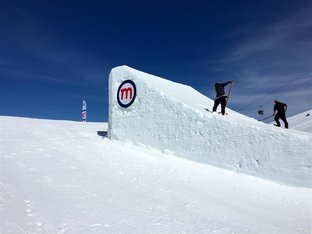 First quad cork in snowboard