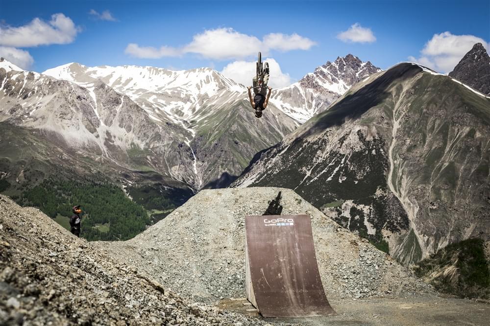 Mottolino bikepark slopestyle course