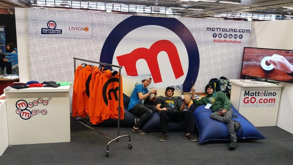 Stand Mottolino fiera Modena