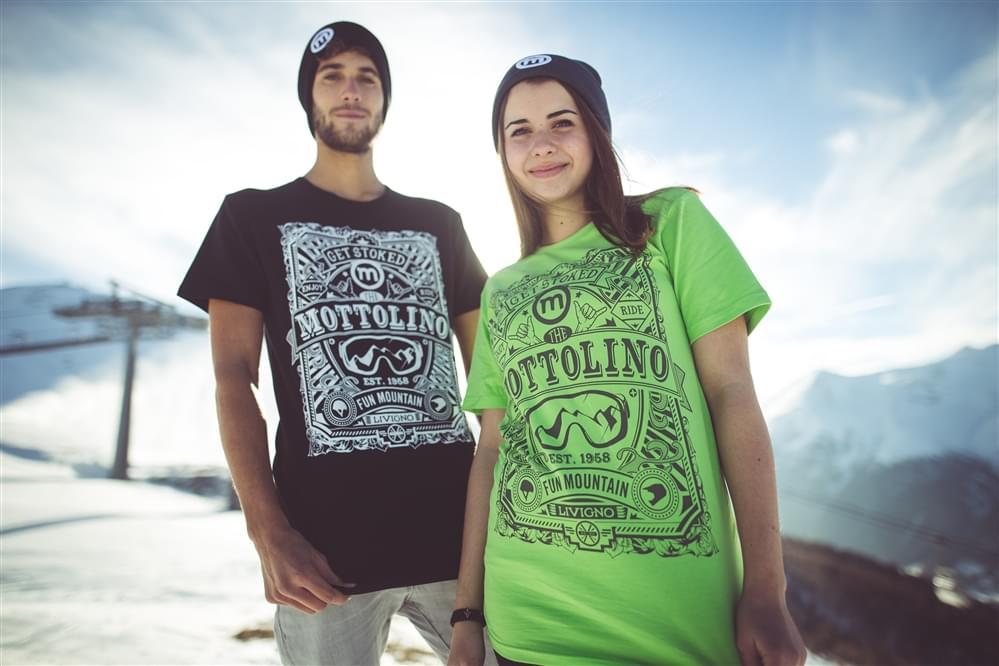 T-shirt Mottolino
