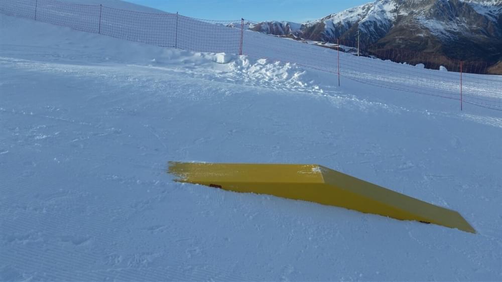 Kids snowpark Mottolino Livigno