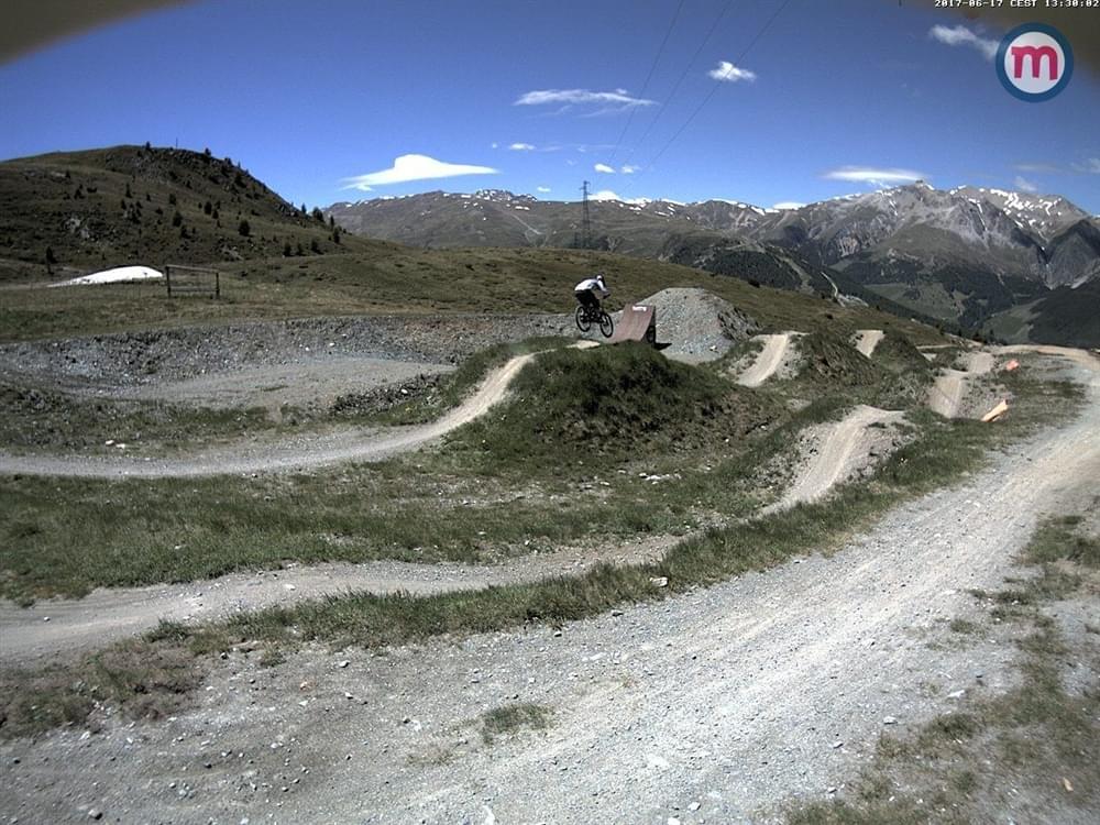 Webcam Livigno bikepark Mottolino